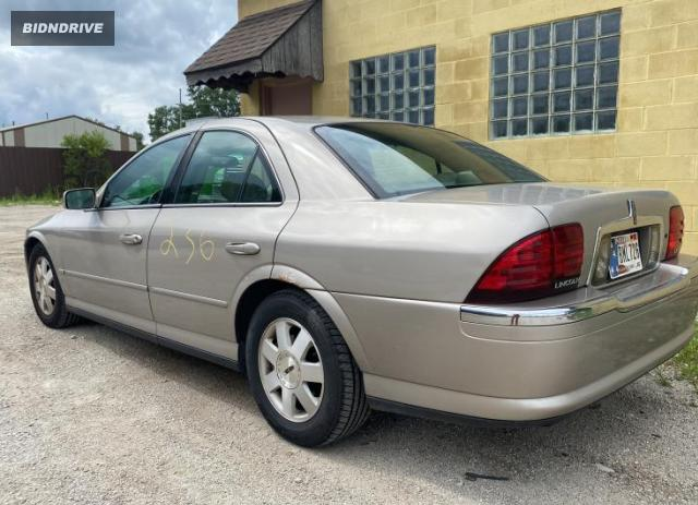 Lot #1731530205 2002 LINCOLN LS salvage car