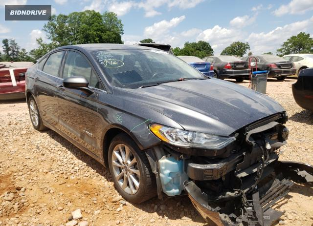 Lot #1732930348 2017 FORD FUSION SE salvage car