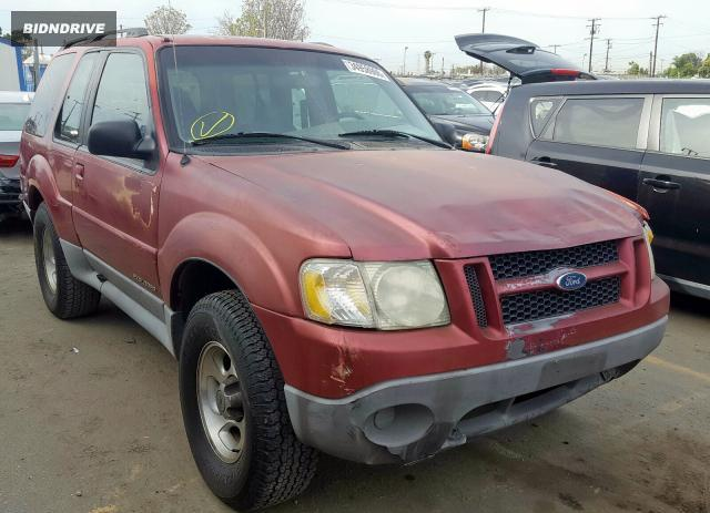 Lot #1733035728 2002 FORD EXPLORER S salvage car