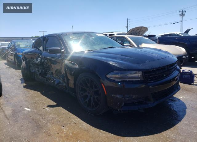 Lot #1733065540 2019 DODGE CHARGER SX salvage car