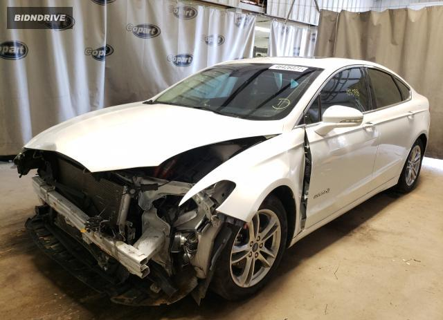 Lot #1733466265 2015 FORD FUSION TIT salvage car