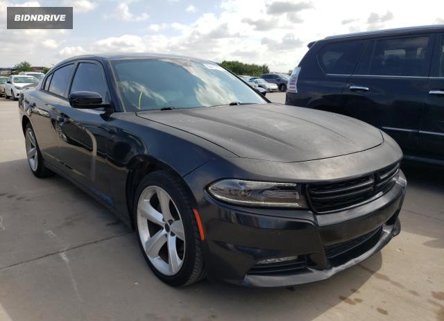 Lot #1733636762 2015 DODGE CHARGER SX salvage car