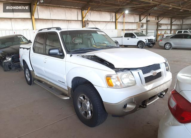 Lot #1733651780 2001 FORD EXPLORER S salvage car