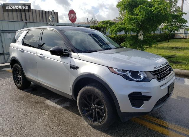 Lot #1733672210 2017 LAND ROVER DISCOVERY salvage car