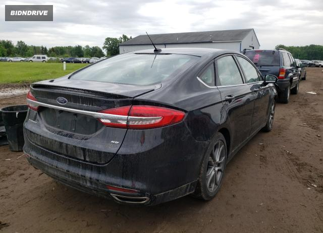 Lot #1734152565 2017 FORD FUSION SE salvage car