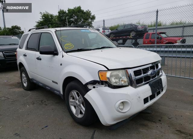 Lot #1738440355 2008 FORD ESCAPE HEV salvage car