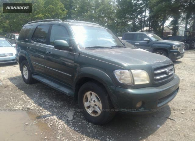 Lot #1738808922 2001 TOYOTA SEQUOIA LIMITED salvage car