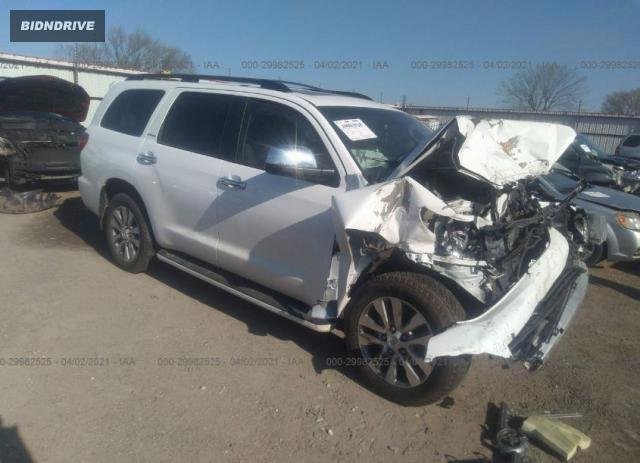 Lot #1738819532 2017 TOYOTA SEQUOIA LIMITED salvage car