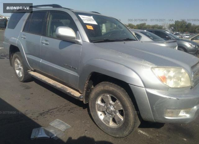 Lot #1738819968 2005 TOYOTA 4RUNNER LIMITED salvage car