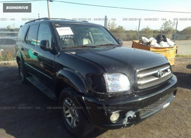 Lot #1738821780 2004 TOYOTA SEQUOIA LIMITED salvage car