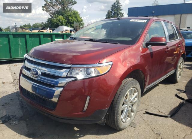 Lot #1756673610 2014 FORD EDGE LIMIT salvage car