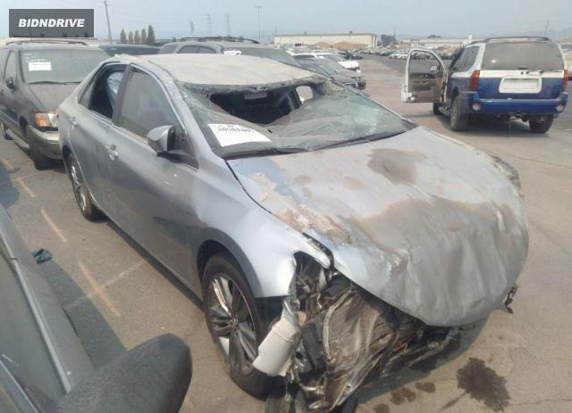 Lot #1761473725 2016 TOYOTA CAMRY XLE/SE/LE/XSE salvage car