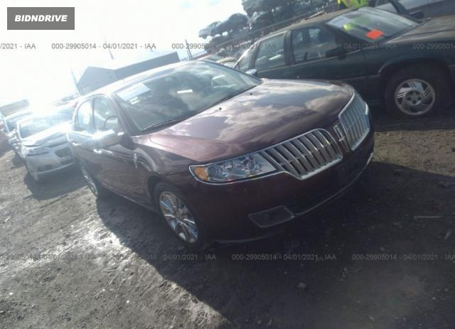 Lot #1761931622 2012 LINCOLN MKZ salvage car