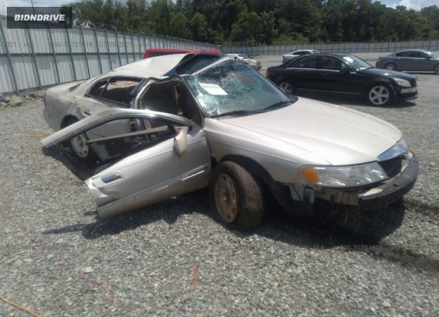 Lot #1762827702 1999 LINCOLN CONTINENTAL salvage car