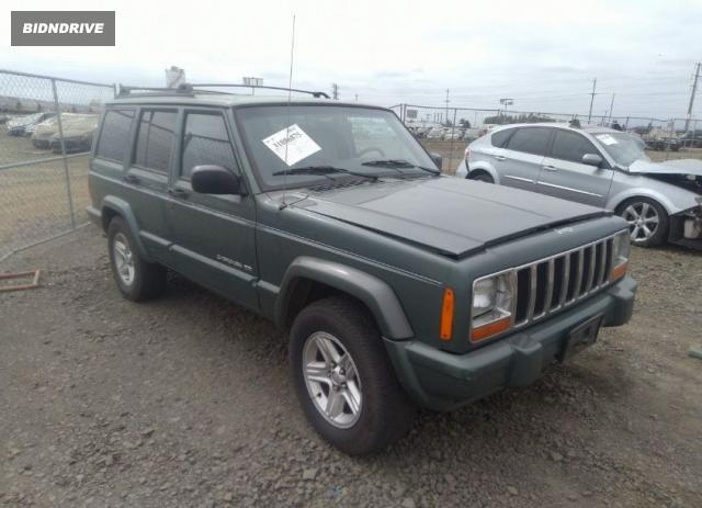 Lot #1762830730 2000 JEEP CHEROKEE LIMITED salvage car