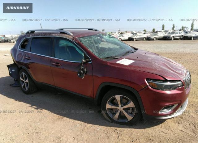 Lot #1762831370 2019 JEEP CHEROKEE LIMITED salvage car