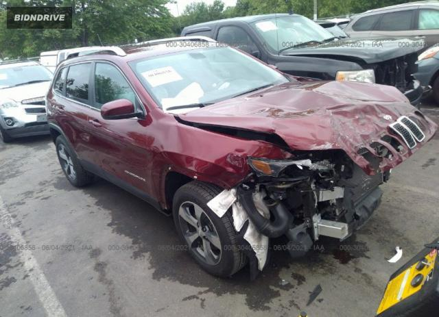 Lot #1763262692 2019 JEEP CHEROKEE LIMITED salvage car