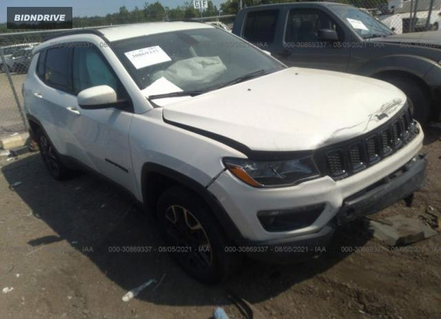Lot #1776429728 2019 JEEP COMPASS UPLAND EDITION salvage car