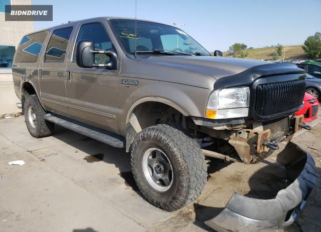 Lot #1776691778 2000 FORD EXCURSION salvage car
