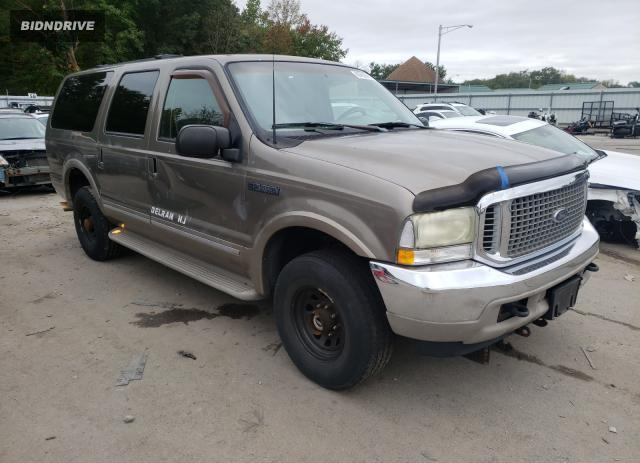 Lot #1776988728 2002 FORD EXCURSION salvage car