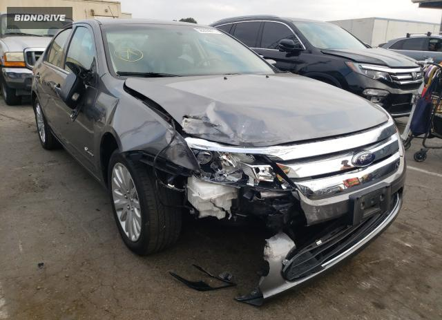 Lot #1777502350 2010 FORD FUSION HYB salvage car